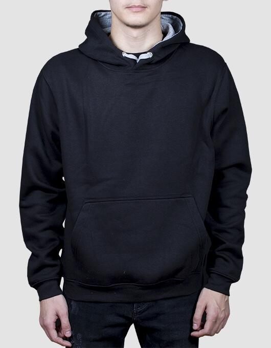 hoodie man negru 22260
